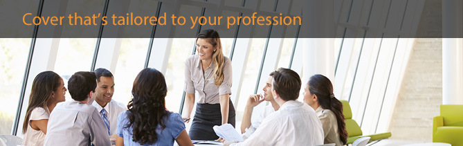 professional indemnity insurance tailored to your professions