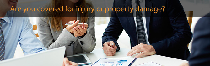 public and products liability insurance