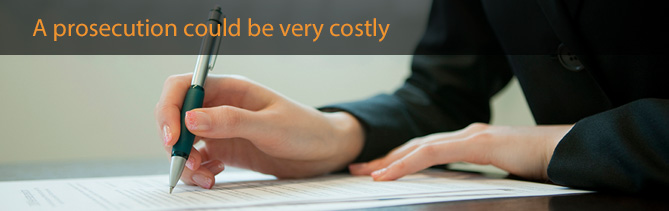 statutory liability, protect you from a costly prosecution