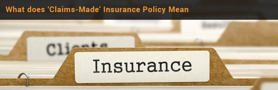 indemnity insurance claims made insurance policy